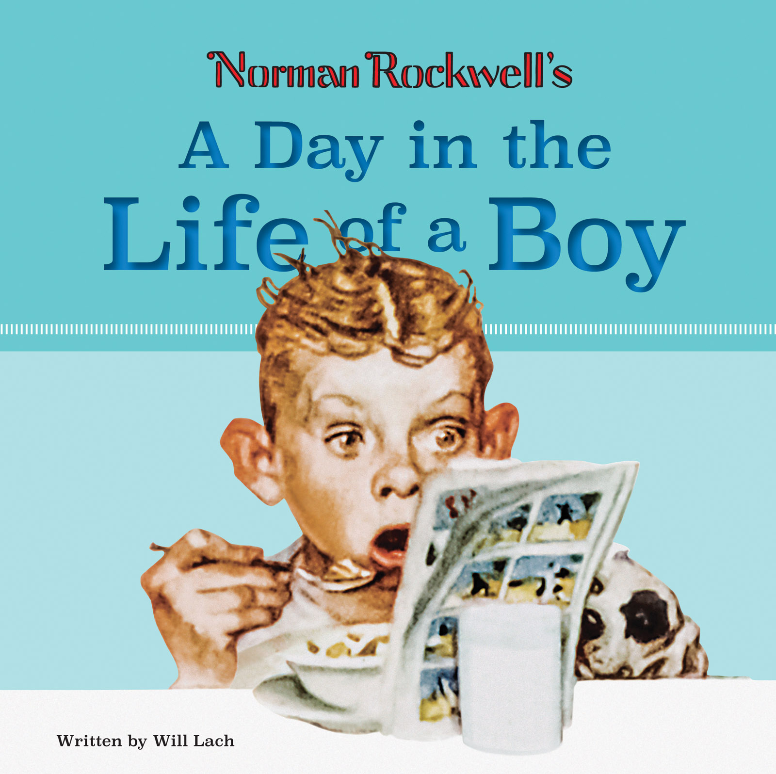 Norman Rockwell, A Day in the Life of a Boy Cover