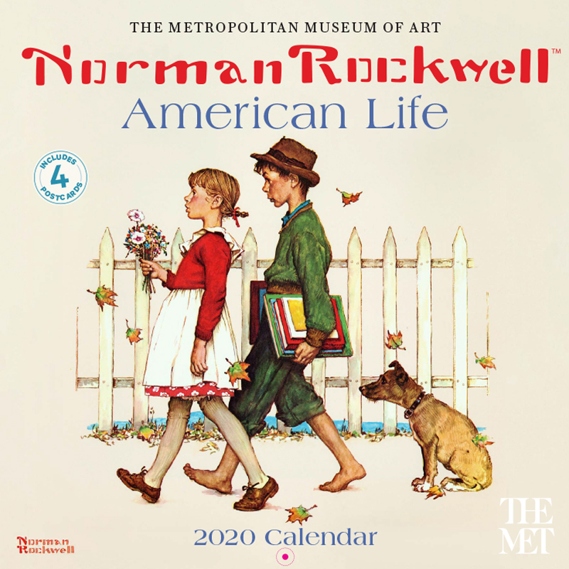 Norman Rockwell American Life Calendar