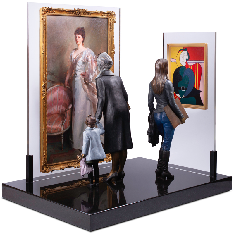Norman Rockwell Display, Museum Figurine