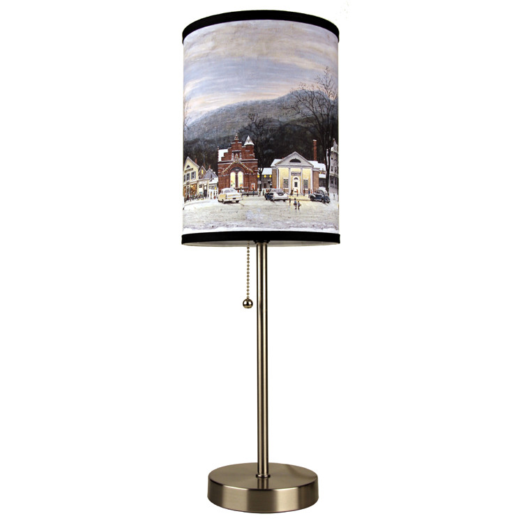 Norman Rockwell Lamp