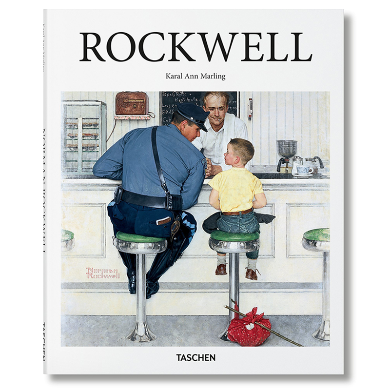 Norman Rockwell Taschen Cover