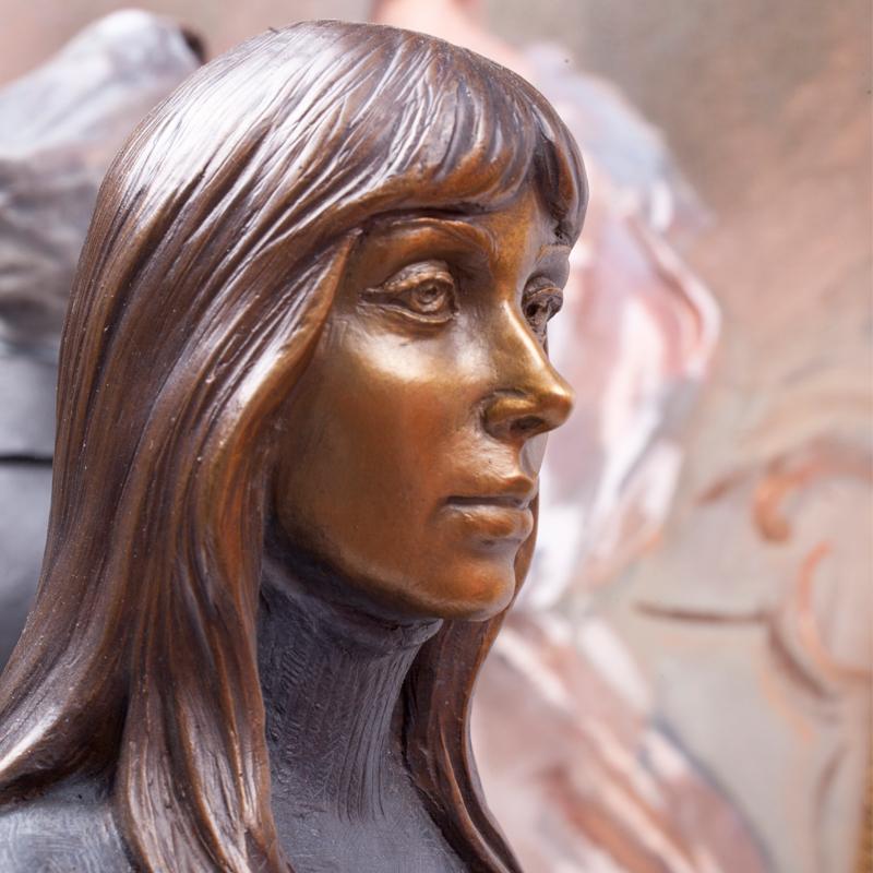 Norman Rockwell Sculpture