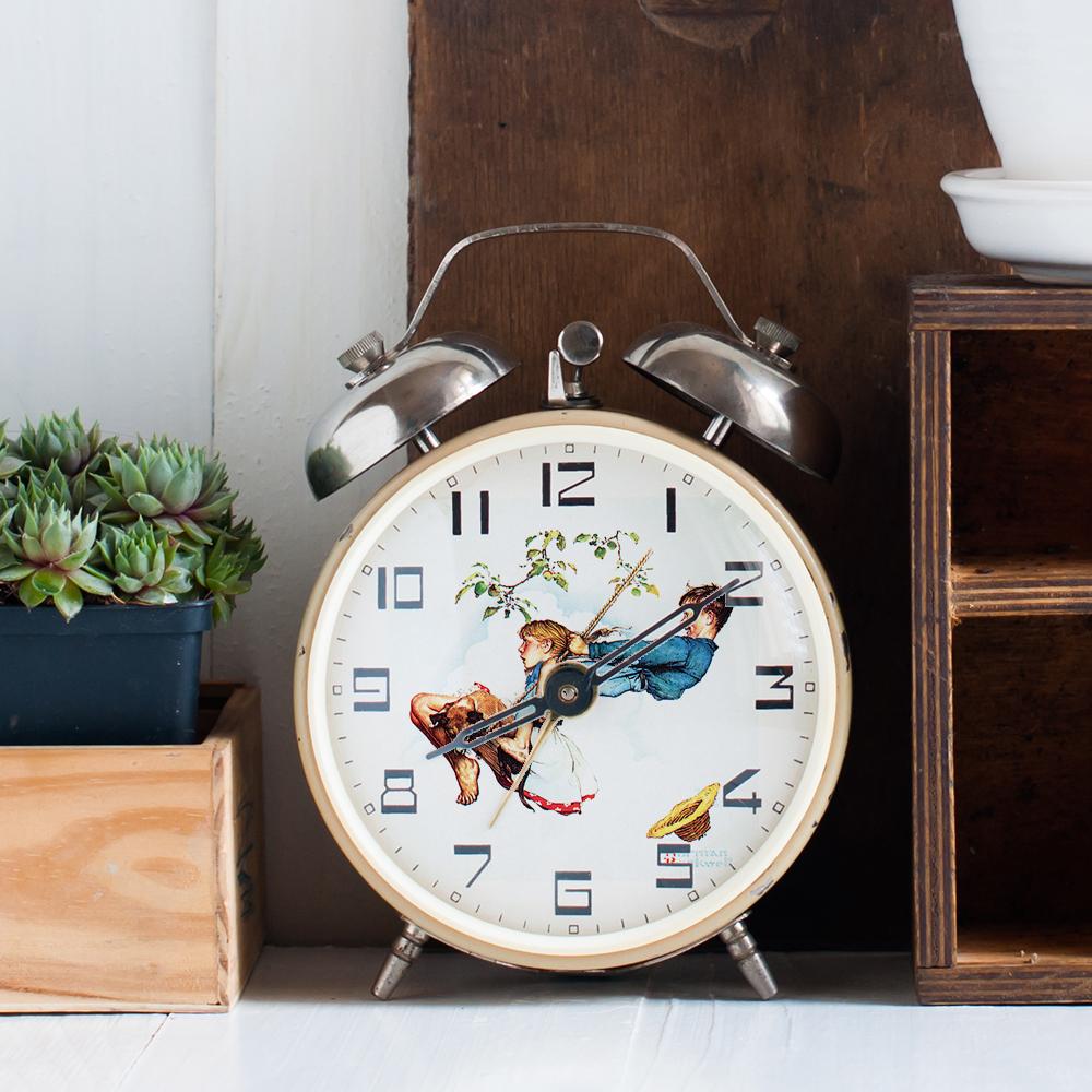 Norman Rockwell Alarm Clock