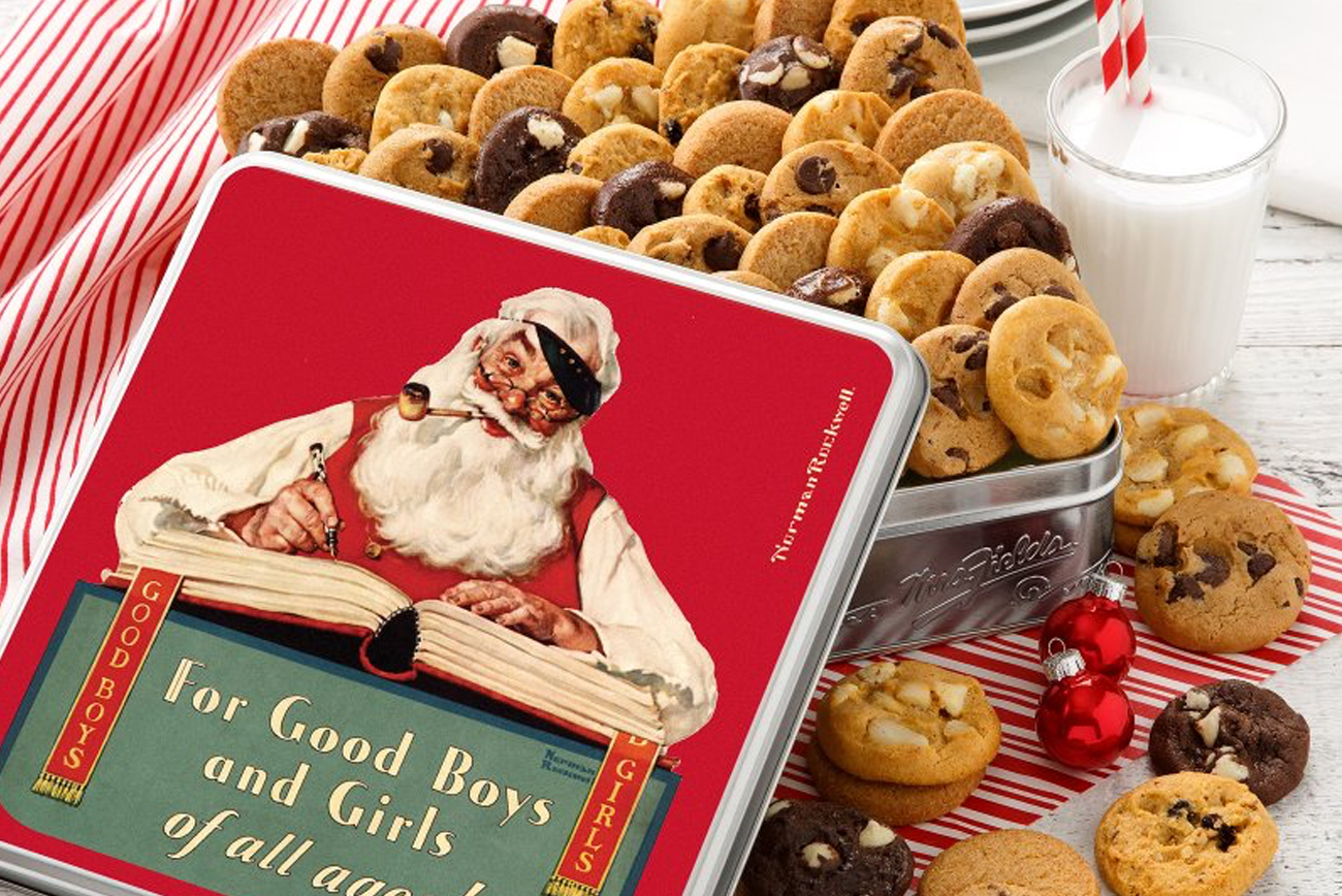 Norman Rockwell Mrs Fields Cookies 2