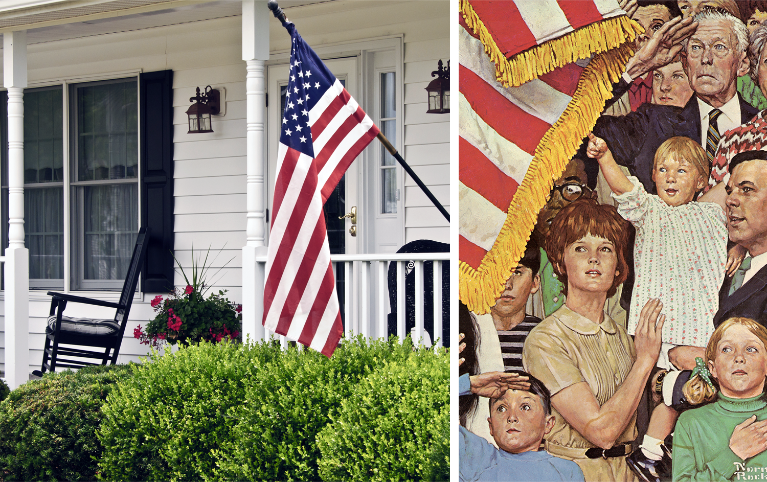 Norman Rockwell Patriotism, Image and Illustration